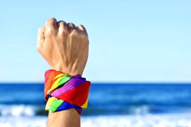 """""""I had no idea you were gay!"""" 