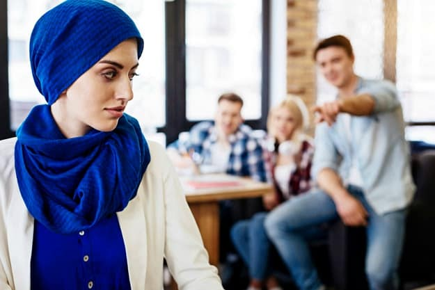 """""""Don't you feel oppressed?"""" 